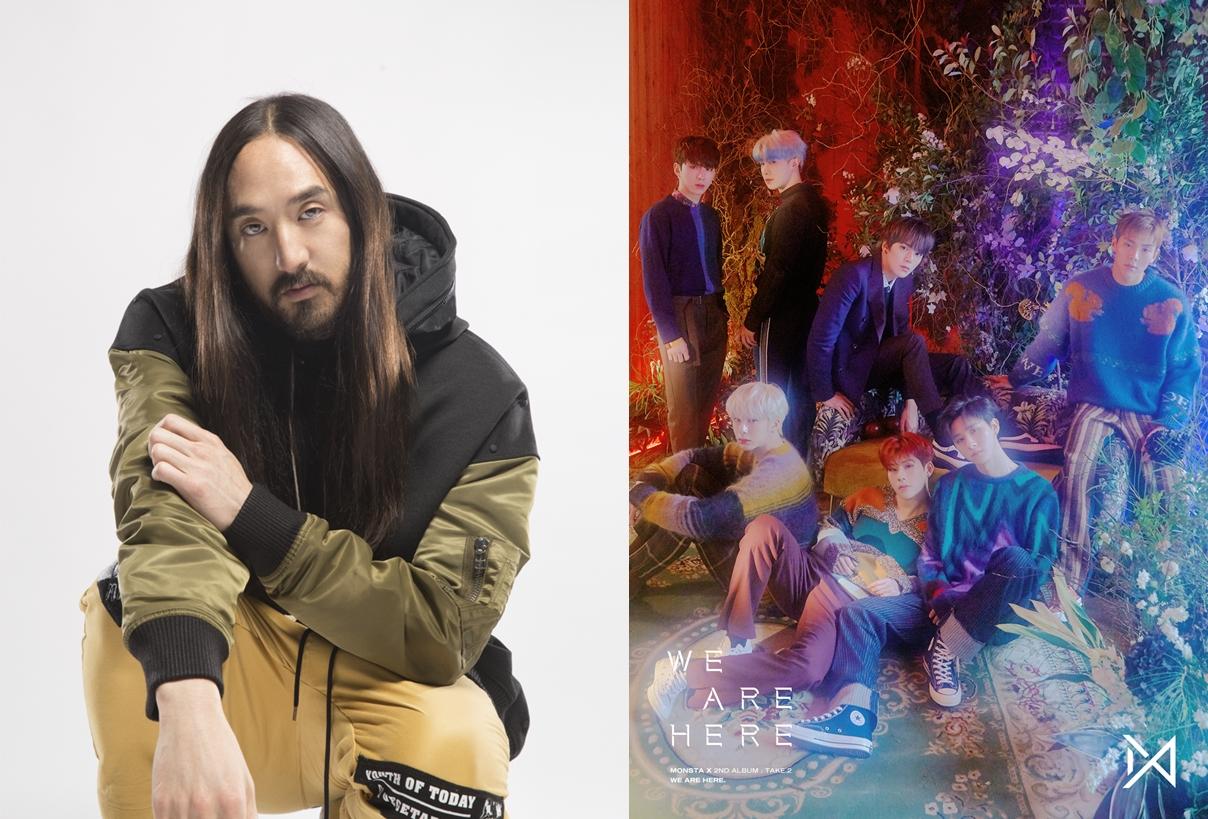 몬스타엑스X스티브 아오키 협업곡 'Play It Cool' 영어 버전 22일 발매