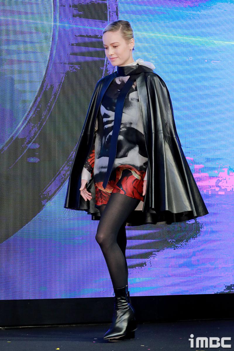 [포토] '어벤져스 : 엔드게임' 브리 라슨, 걸음걸이부터 남다른 그녀
