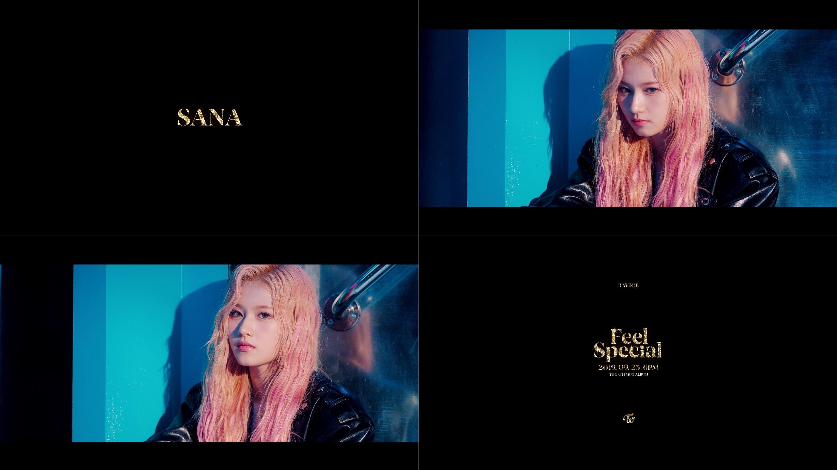 트와이스 사나, 신곡 'Feel Special' 티저서 비현실적 인형 비주얼 자랑