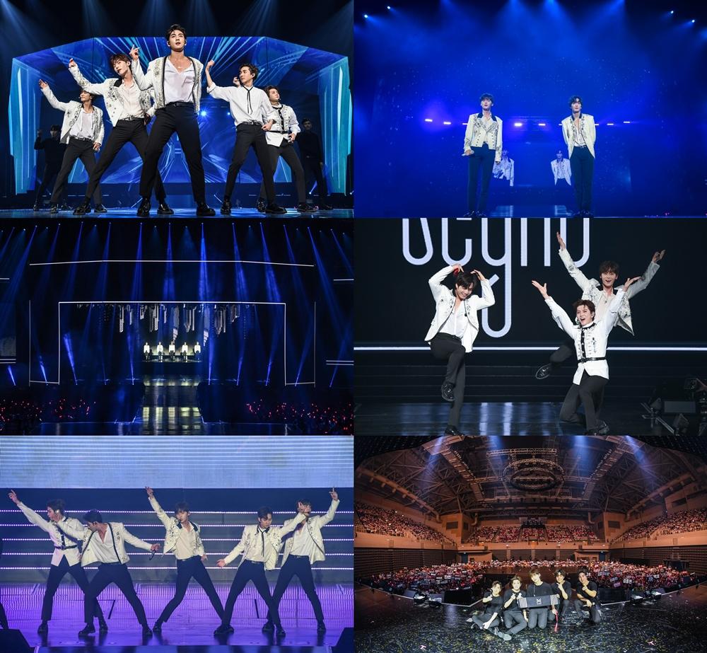 뉴이스트, 해외 투어 'Segno' 성료… 4만 5천여 글로벌 팬들과 호흡하다
