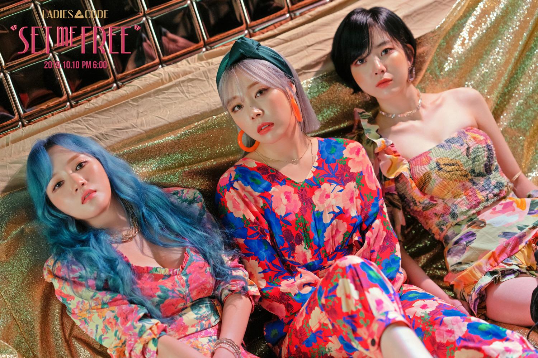 레이디스 코드, 오늘(10일) 신곡 'SET ME FREE' 공개… 코드 시리즈의 귀환