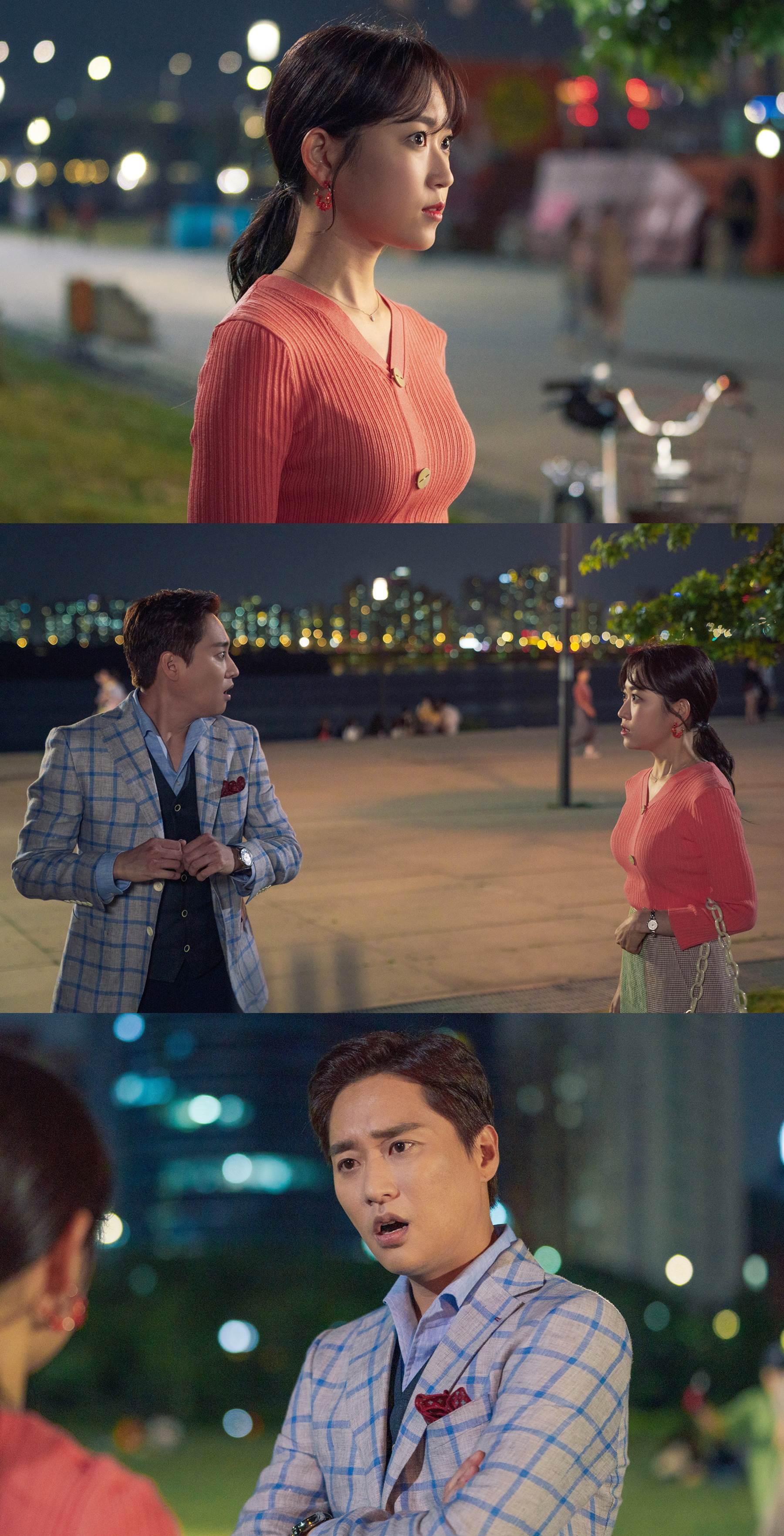 '하자있는 인간들' 김슬기-허정민, 불꽃 튀는 만남… 으르렁 상극 케미!