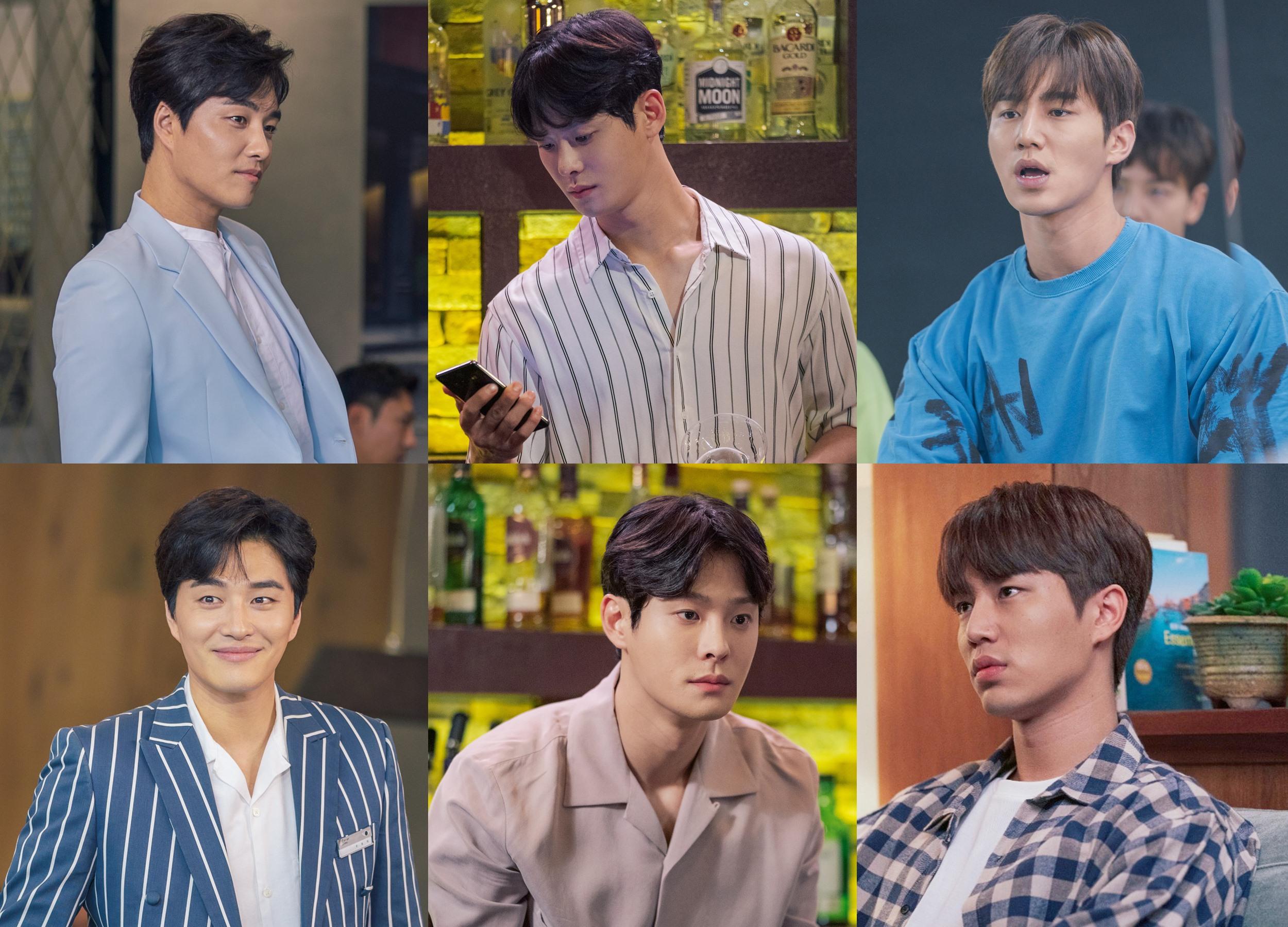 '하자있는 인간들' 민우혁-차인하-김재용, '주氏 집안' 3형제의 다채로운 매력♥