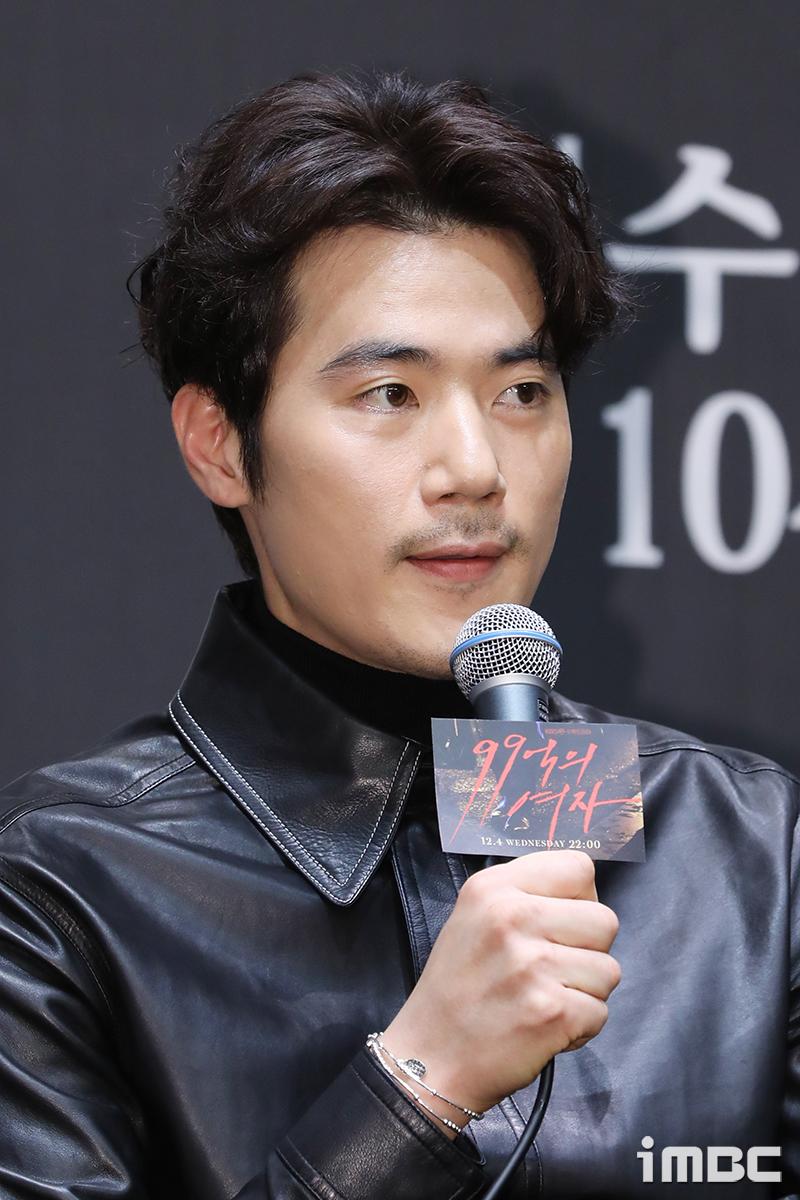"""'99억의 여자' 김강우 """"액션촬영을 하고 나면 다음날 살이 빠지고 얼굴에 퀭해져"""""""