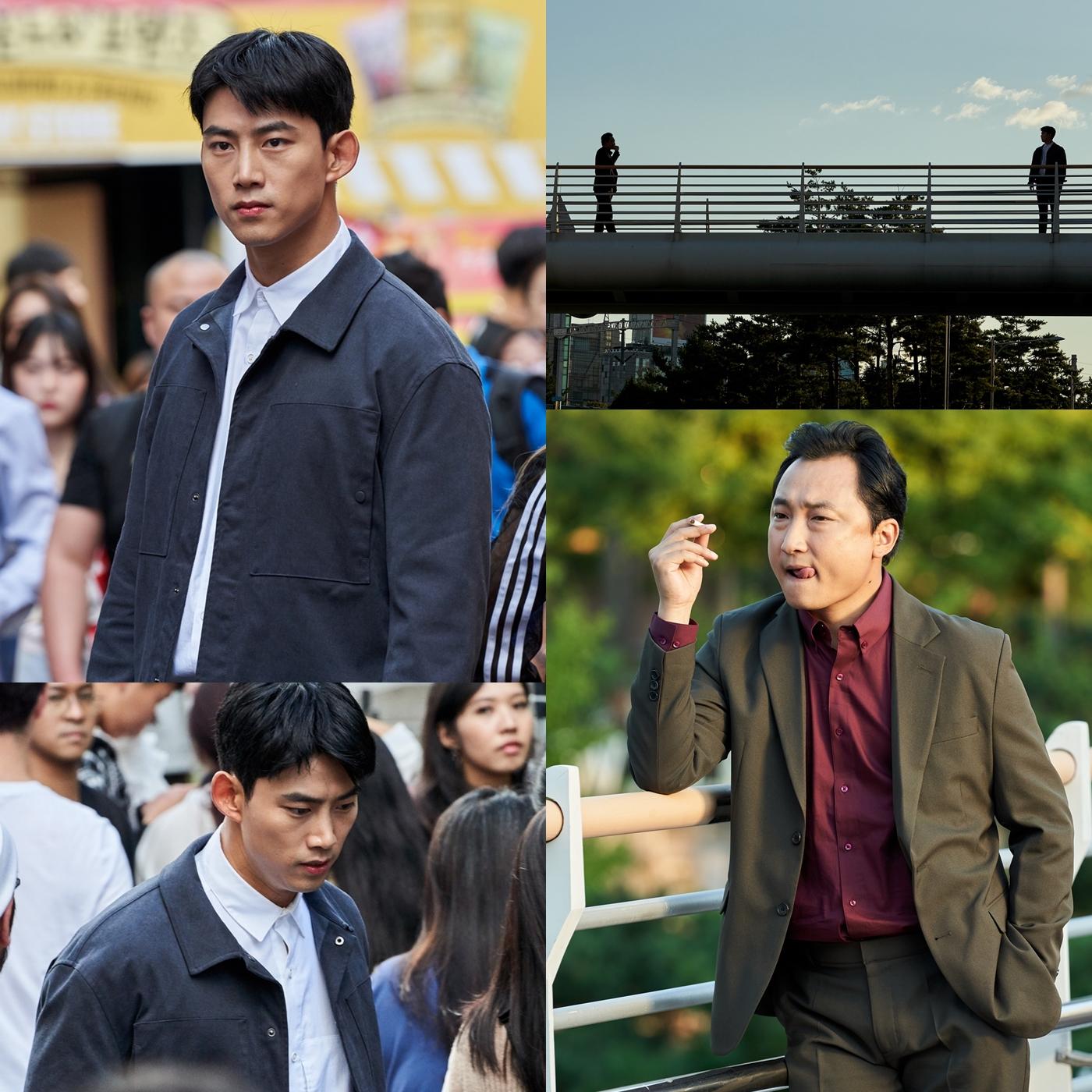 '더 게임:0시를 향하여' 옥택연이 만난 의문의 남자, 거대 범죄 사건의 서막 예고!