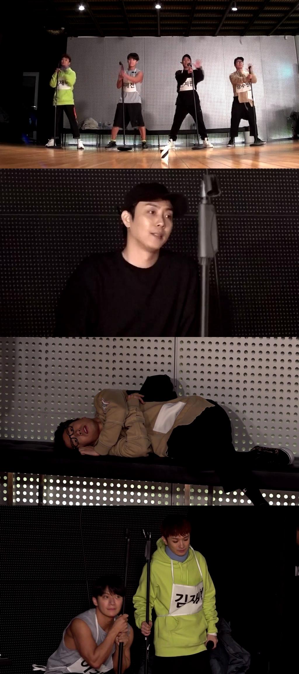 """'전참시' 젝스키스, 평균 나이 42세들의 눈물 나는 컴백 비하인드 공개 """"예전 같지 않네"""""""