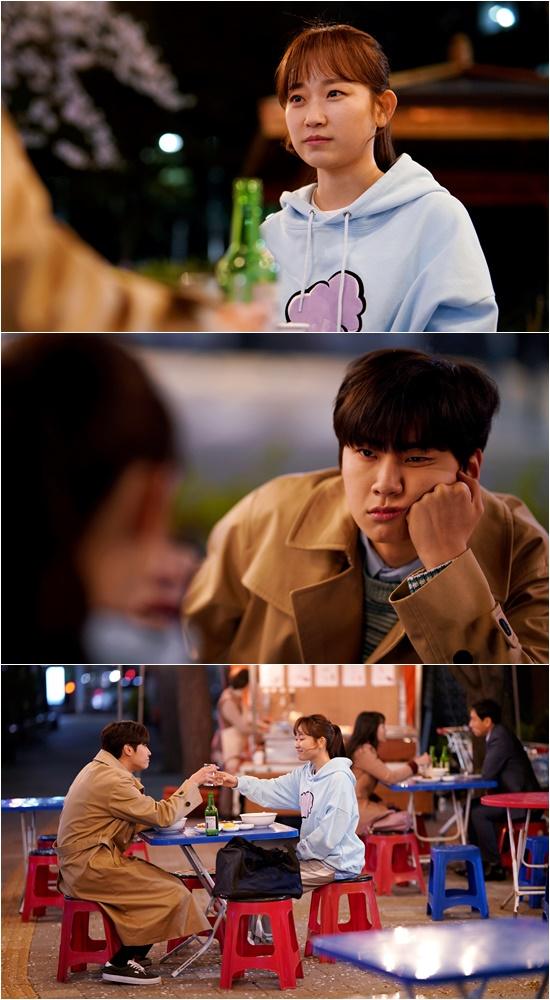 '그 남자의 기억법' 김슬기-이진혁, 병원 동침 이어 포장마차 데이트 포착!