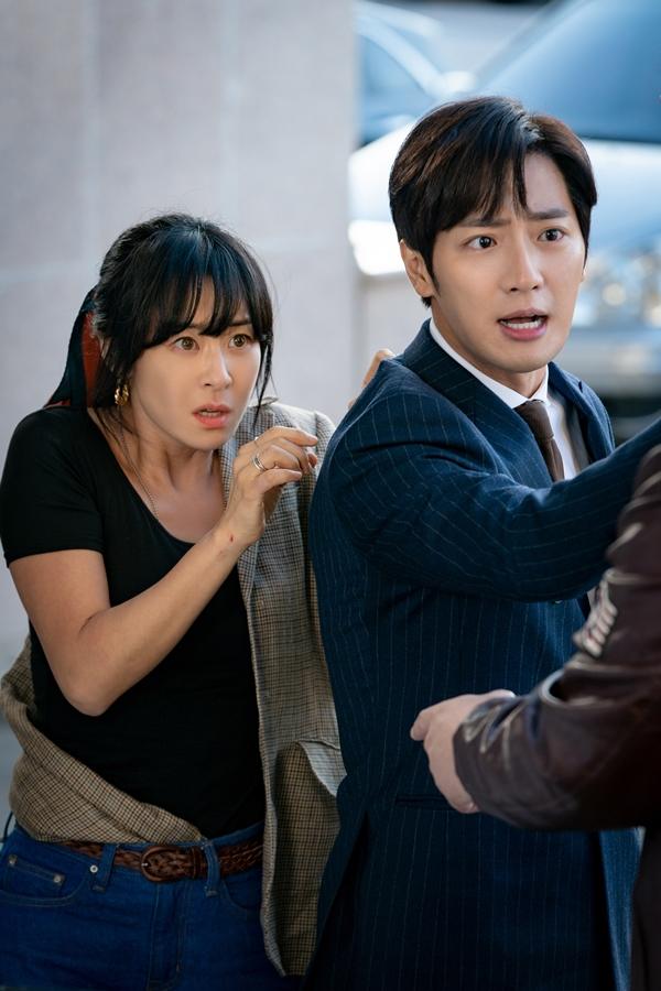 '굿캐스팅' 최강희, '멋쁨 액션' 대폭발! 이상엽과의 순정마초 투샷 포착