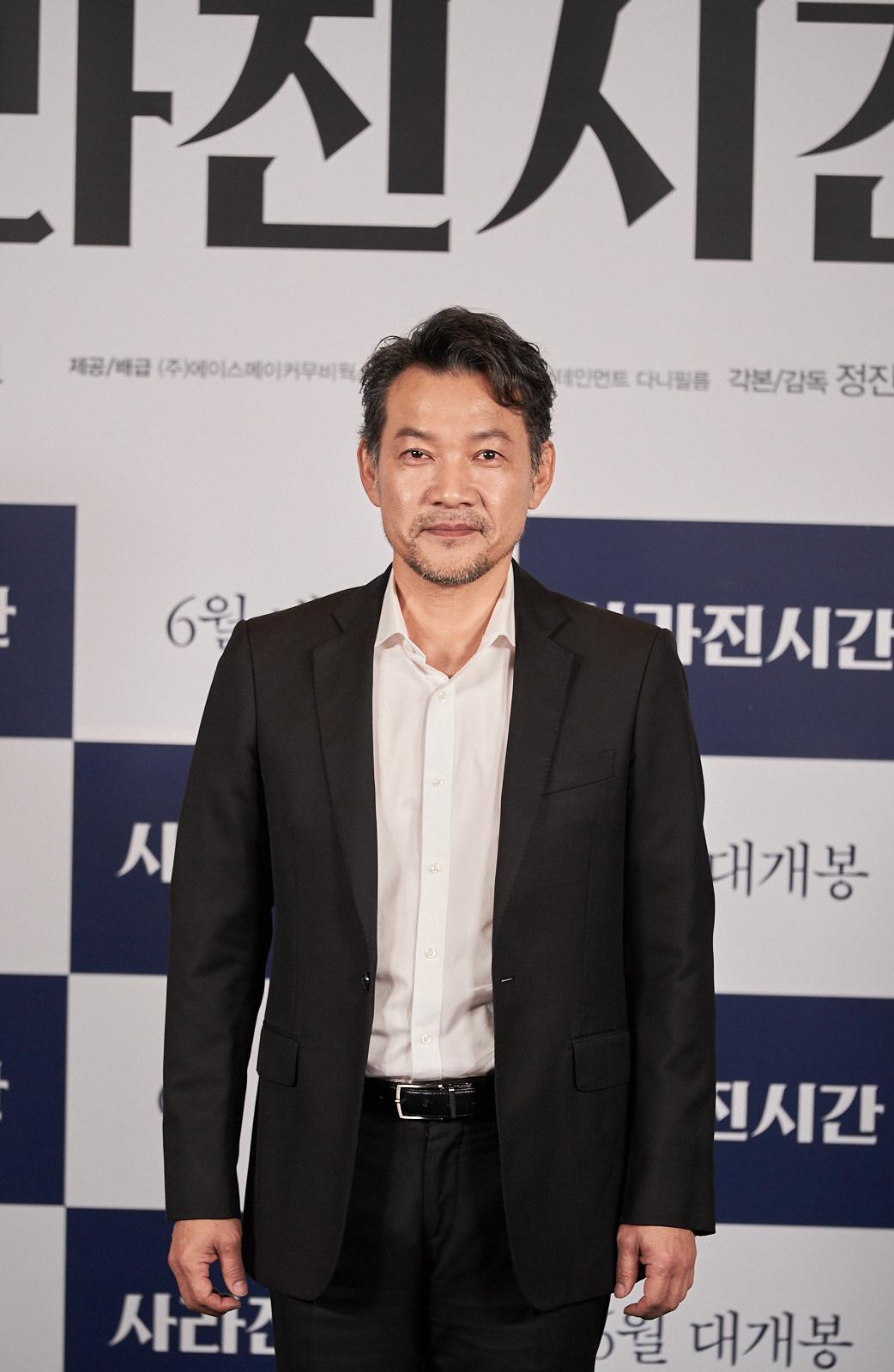 """'사라진 시간' 정진영 """"영화 감독이 되고 싶었던 17살때 꿈, 57살에 이뤘다"""""""