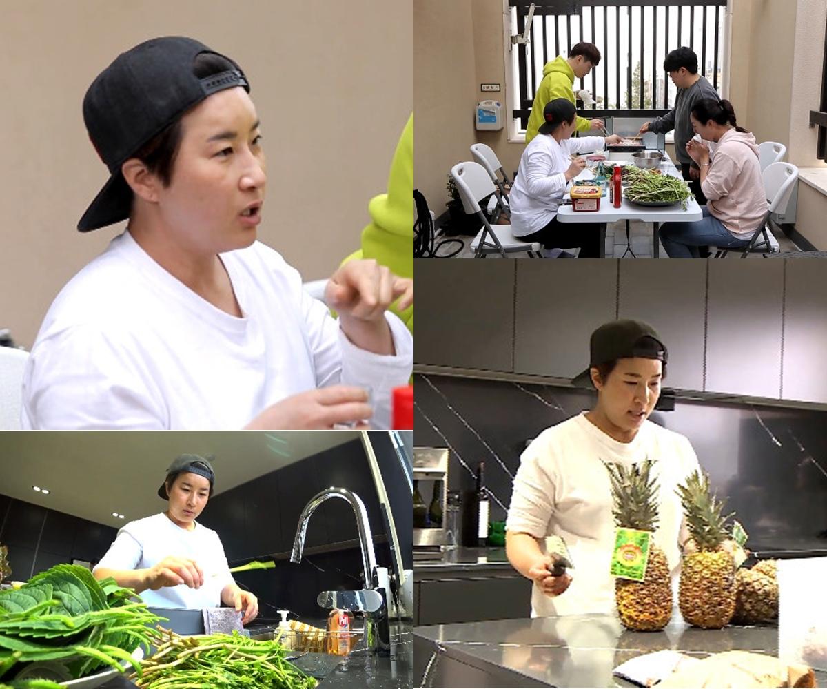 '나 혼자 산다' 박세리, 生미나리→삽겹살 먹방… 모두를 빠져들게 만든 음식철학