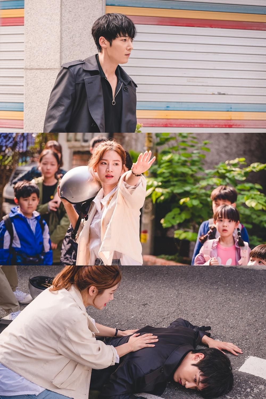 D-1 '좀비탐정' 최진혁-박주현, 강렬한 만남... 두 사람이 쫓고 쫓기게 된 이유는?