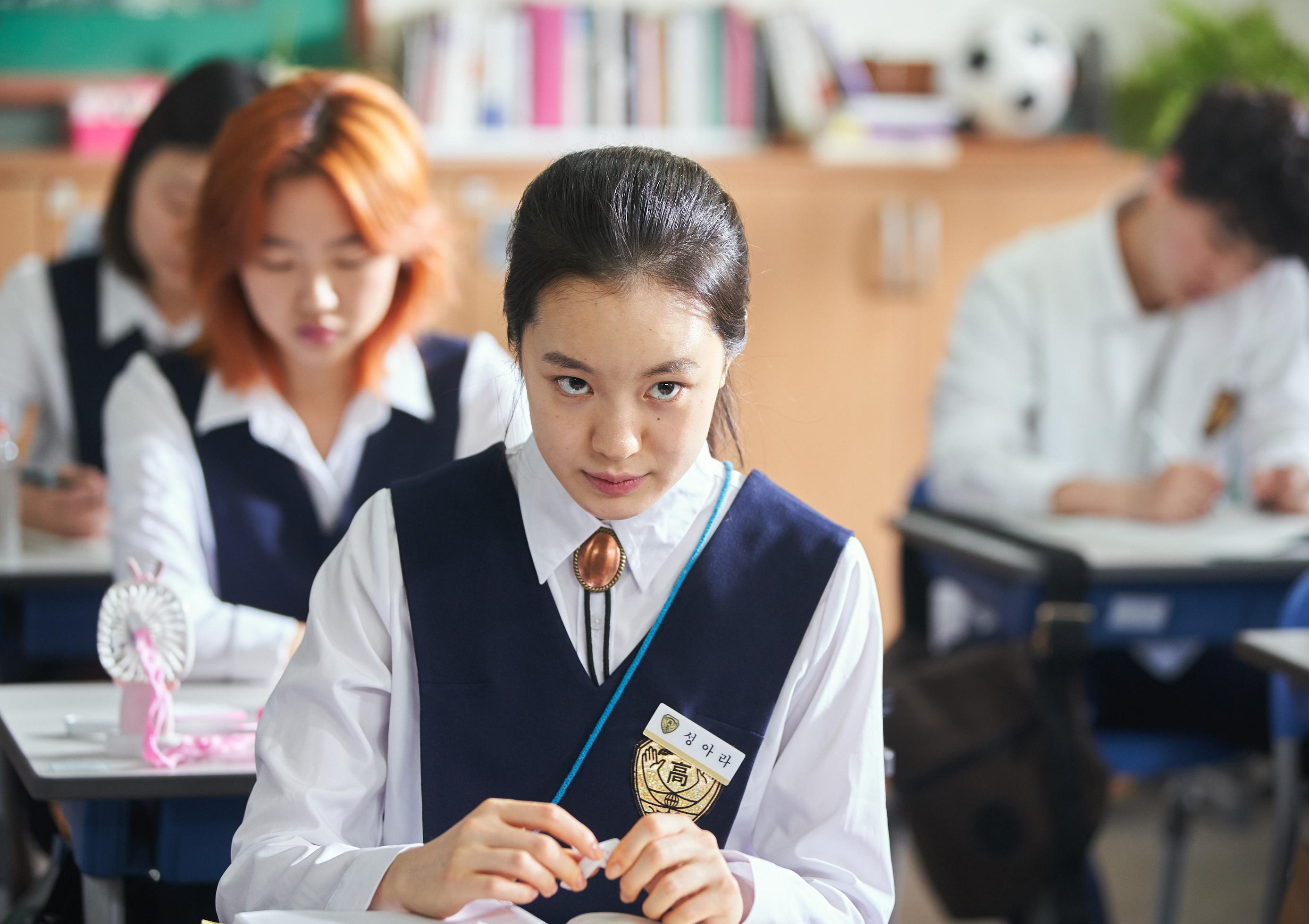 """[人스타] '보건교사 안은영'의 박혜은 """"저는 24살이구요. 제 데뷔작이예요"""""""