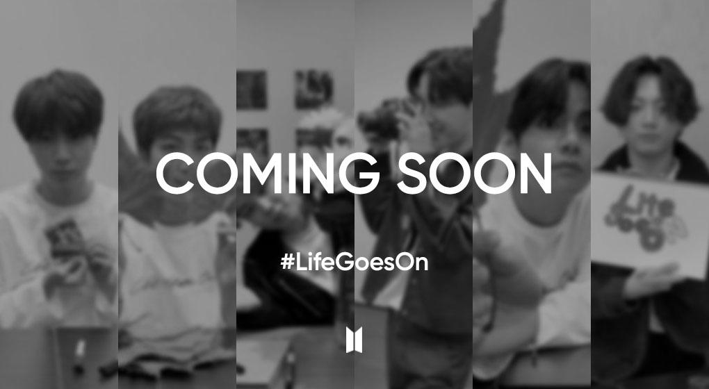 """방탄소년단, '#LifeGoesOn' 틱톡 챌린지 시작 """"첫 주자는 진"""""""