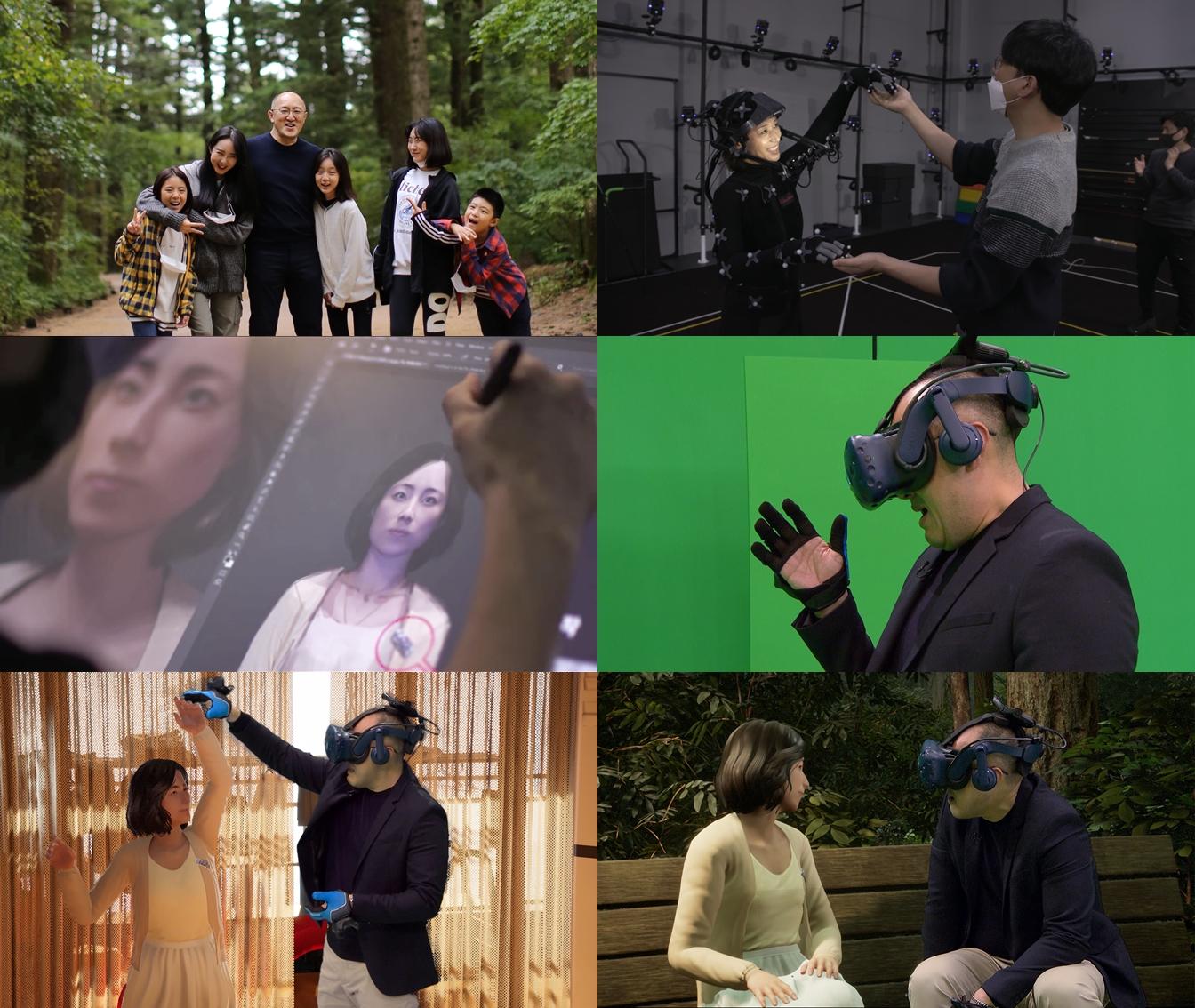 '너를 만났다' 세상 떠난 아내, VR로 다시 만났다...등장에 눈물