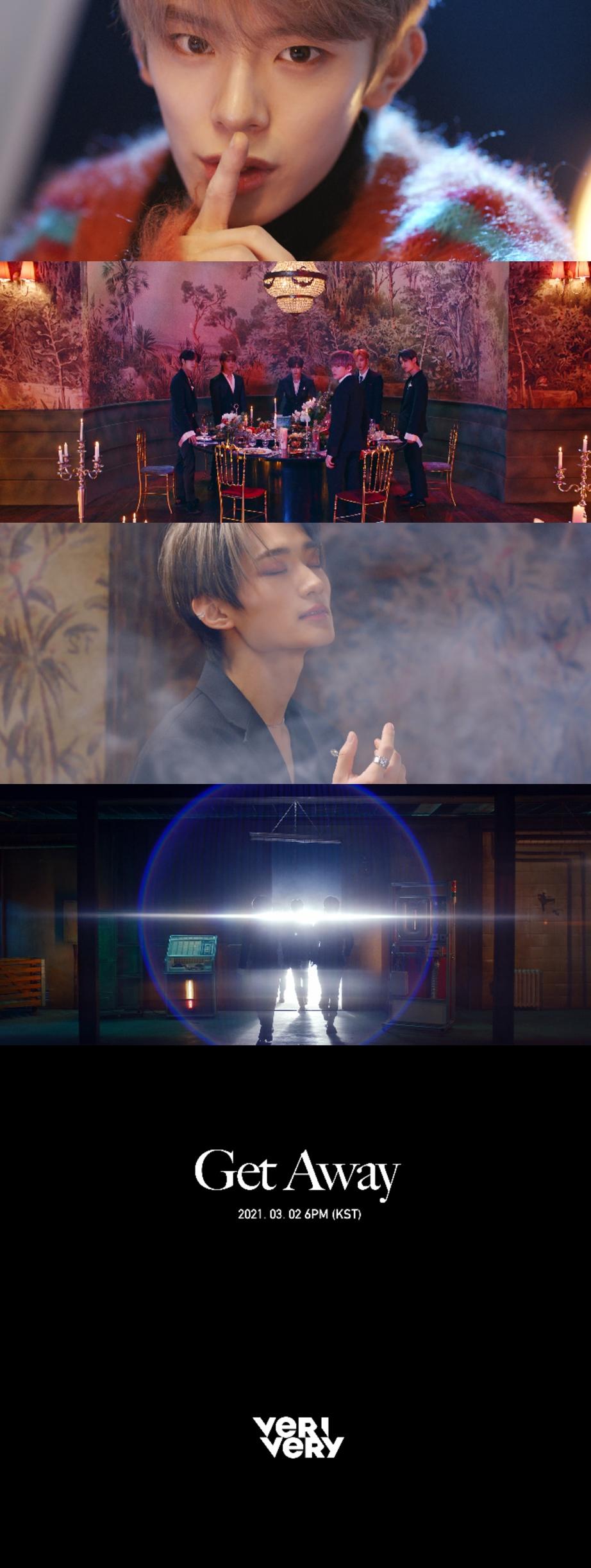 베리베리, 'Get Away' M/V 티저 공개... 광란의 파티 예고 '기대 UP'