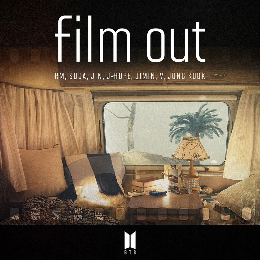 방탄소년단 'Film out', 오리콘 차트 역주행…1위 탈환