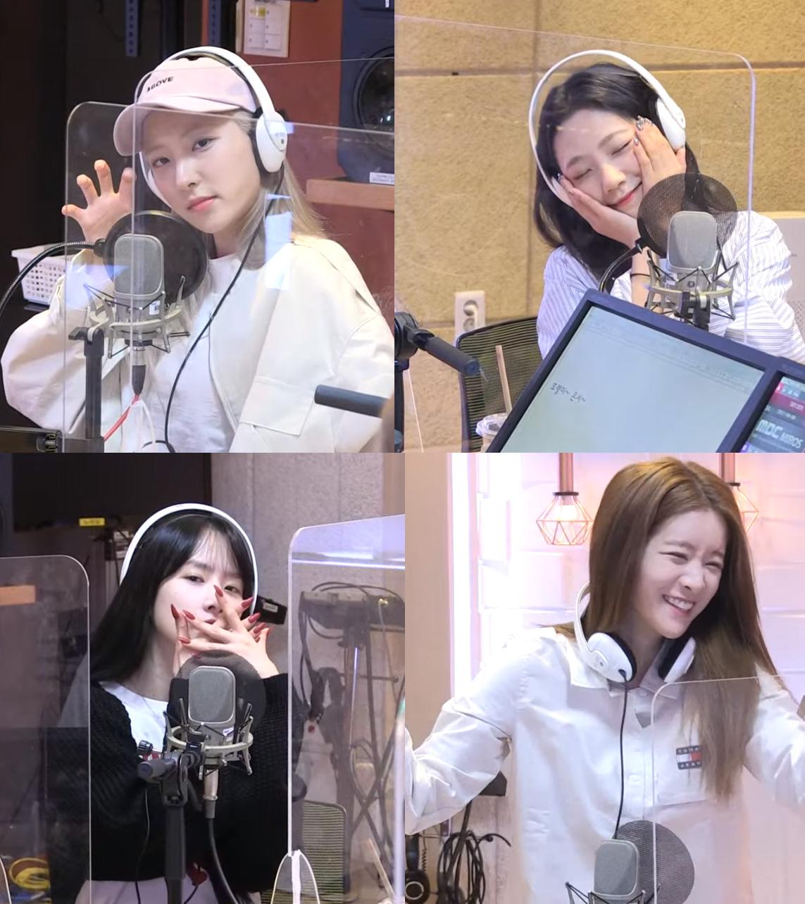 """우주소녀 """"신곡 '언내추럴' 1위 공약, 각자 동물 캐릭터 표현하기"""" (정희)"""
