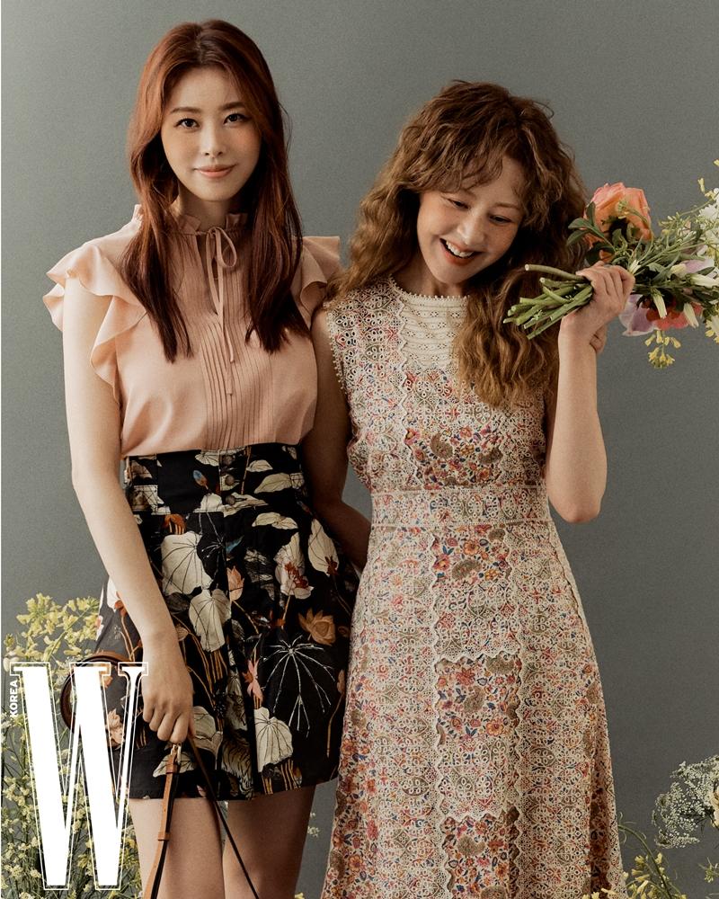 [포토] 서정희-서동주, 모녀 아닌 자매 같은 커플 화보