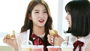 [포토] 여자친구 소원, 탄수화물 앞에서 환한 미소