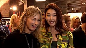 톱모델 한혜진, 대한민국 대표로 뉴욕 패션위크 참석