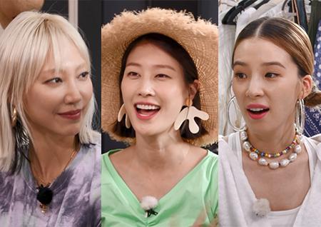 수주-이현이-아이린, 모델 3인방의 바캉스 패션! '잇 아이템'은 무엇?